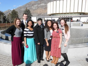 temple day at Provo Temple