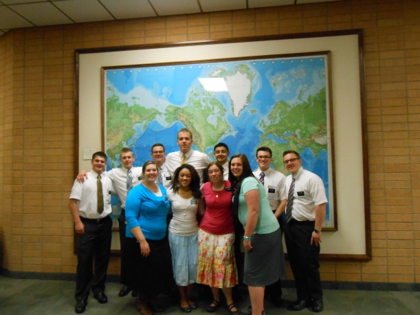 Her district at the MTC