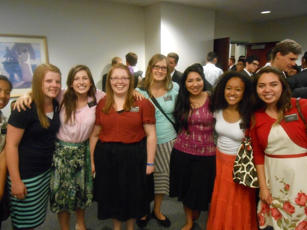 Missionary fireside