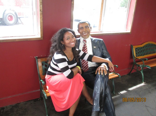 Barack and I