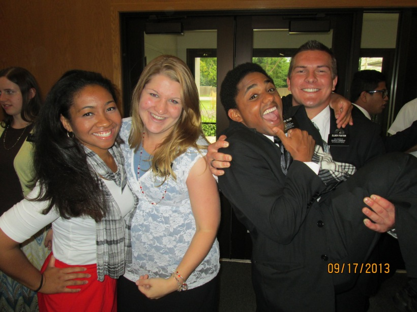 1. Me, Hermana Madsen, Elder Allen (He's leaving and he's my bro is the mish!), and Elder Tate Ross Foster! LOVE THESE THREE!