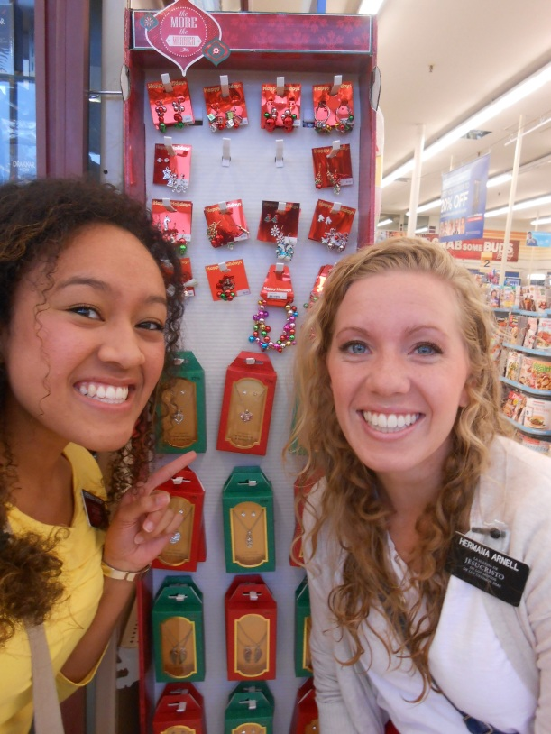 Christmas stuff in the stores!!!