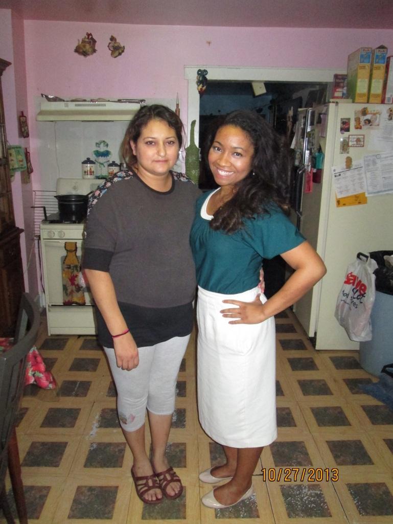 with my investigator Maribel
