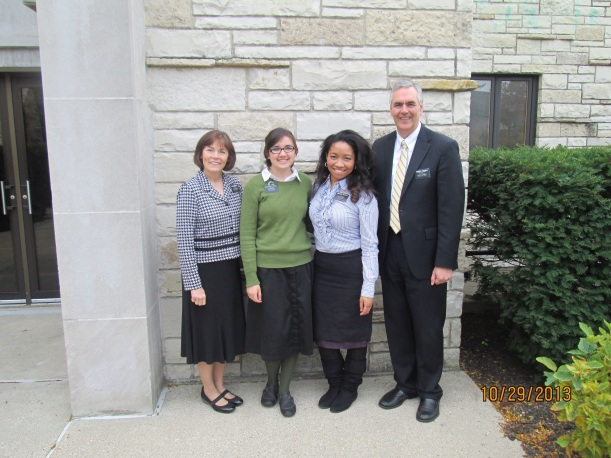 Pres and Sis Woodbury and my new companion from Provo, UT