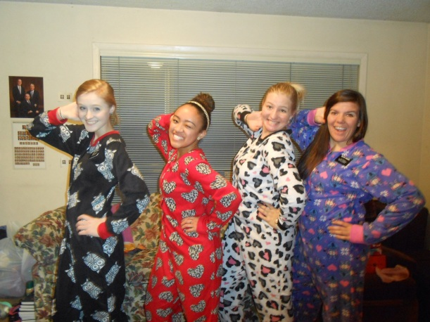 pose with our onesies