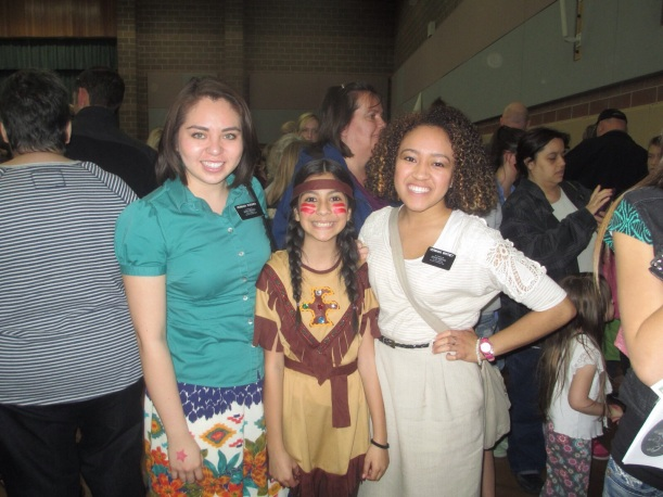 This is Karina, a former investigator. We went to her Peter Pan play. She was an Indian in it. Super Cute!
